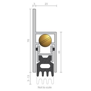 Picture of Raven RP38 Automatic Door Bottom Seal