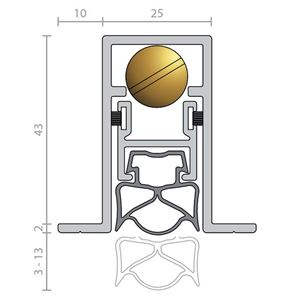 Picture of Raven RP70Si Automatic Door Bottom Seal