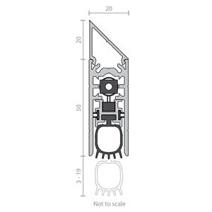 Picture of Raven RP99Si Automatic Door Bottom Seal