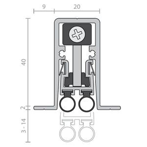 Picture of Raven RP127Si Automatic Door Bottom Seal