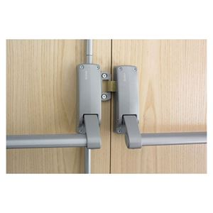 Picture of Briton B377E Double Door Exit Device SIL