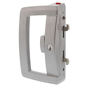Picture of Lockwood Onyx 9A1A2-5P Double Cylinder Patio Door Lock SIL
