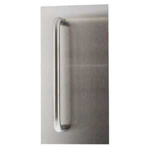 Picture of Lockwood 20824NN-P4 External 324x162mm Pull Plate SS