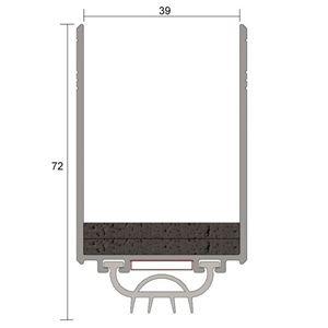 Picture of Kilargo - Fire Door Upgrade Seal FDBU60-35