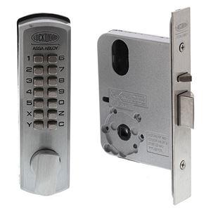 Picture of Lockwood 3572DXR Digital Mortice Lock RH SC [LW3572DXRSC]