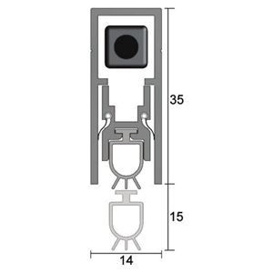 Picture of Kilargo IS8010si Automatic Door Bottom Seal