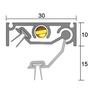 Picture of Kilargo IS8210si Automatic Door Bottom Seal