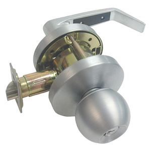 Picture of dormakaba LK70 Classroom Knob & Lever Combo SSS