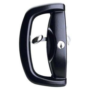 Picture of Whitco W500217 Blaxland Sliding Door Lock BLK