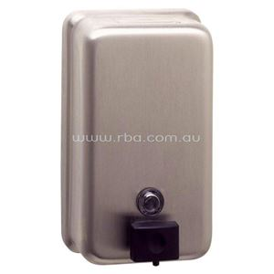 Picture of Bobrick B-2111 Budget Vertical Soap Dispenser