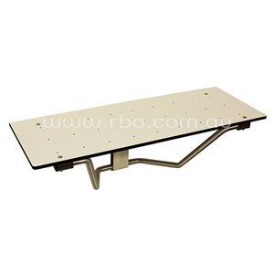 Picture of Bobrick B819687 Accessible Compliant Folding Shower Seat