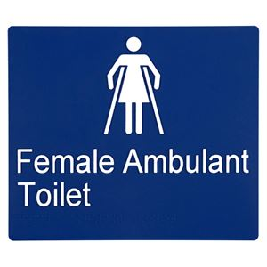 Picture of Sabre Female Ambulant Braille Sign