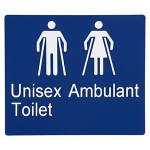 Picture of Sabre Unisex Ambulant Braille Sign