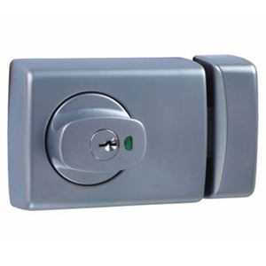Picture of Lockwood 001-1K1 Knob Open-in Timber Frame Deadlatch SP