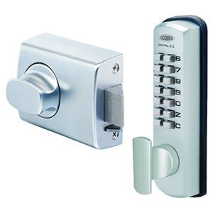 Picture of Lockwood 002DX Mechanical Digital Deadlatch