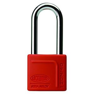 Picture of Lockwood 120 Brass 40mm Padlock 50mm Shackle