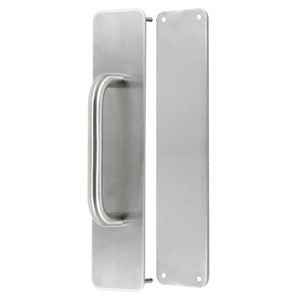 Picture of Sabre 300x65 External 150mm Pull Handle Push-Pull Plate Set SSS