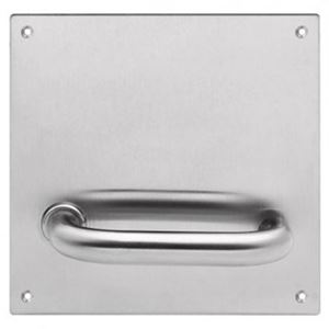 Picture of Lockwood 20105NN-96L Internal 162x162mm Lever Only Plate LH SS