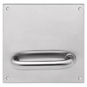 Picture of Lockwood 20105NN-96R Internal 162x162mm Lever Only Plate RH SS