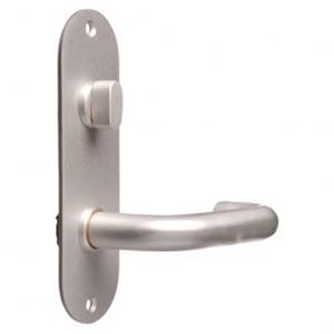 Picture of Lockwood 21304NN-96 162x50 Internal Turn & Lever Plate SS