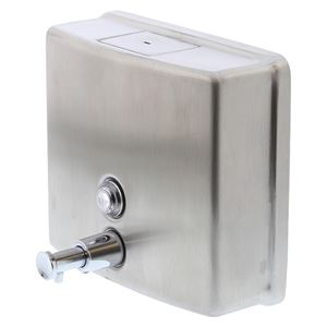 Picture of Metlam ML 603-AS Surface Mounted Square Soap Dispenser
