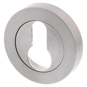 Picture of Designer Doorware E13 Euro Cylinder Escutcheon SC