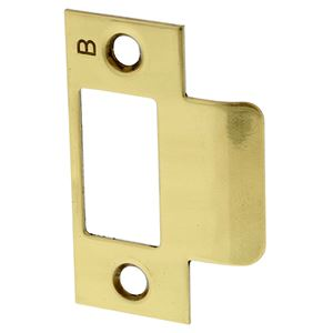 Picture of Lockwood 3570-5153 32mm Mortice Lock Strike Plate PB