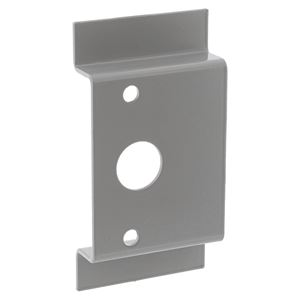 Picture of Lockwood 9000-20 Plain Pull Plate SIL *OBSOLETE*