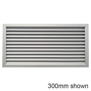 Picture of Air Grille 600x300mm - Nat Anodised