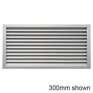 Picture of Air Grille 600x450mm - Nat Anodised