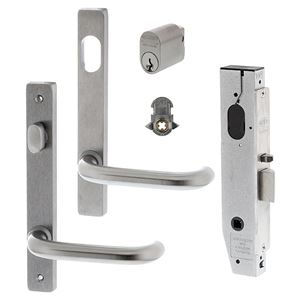 Picture of Lockwood 3582 Single Cylinder & Turn Complete Door Kit SC