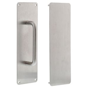 Picture of dormakaba 300x100 150mm Pull Handle Push & Pull Plate Set SSS