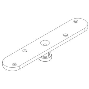 Picture of Brio 106RB-94 Brass Roller Channel Guide