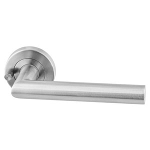 Picture of Sabre Lever on 53mm Rose Privacy Set H03 SSS