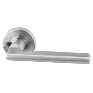Picture of Sabre Lever on 53mm Rose Privacy Set H04 SSS