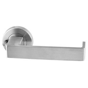 Picture of Sabre Lever on 53mm Rose Privacy Set S07 SSS