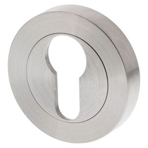 Picture of Sabre Euro Cylinder Escutcheon SSS