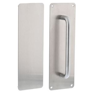 Picture of dormakaba 300x100 200mm Pull Handle Push & Pull Plate Set SSS