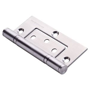 Picture of dormakaba 100x70x2.5mm Fast Fix Hinge (Aluminium) SSS