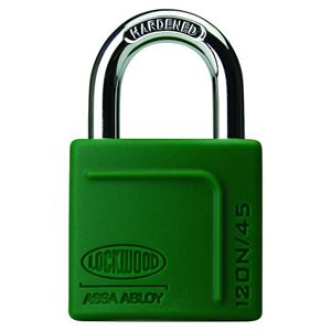 Picture of Lockwood 120N Brass 45mm Padlock 27mm Shackle