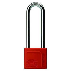 Picture of Lockwood 120N Brass 40mm Padlock 80mm Shackle
