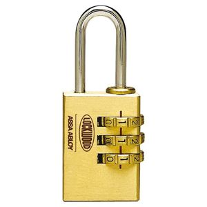 Picture of Lockwood 150 Dial Combo 25mm Padlock 18mm Shackle