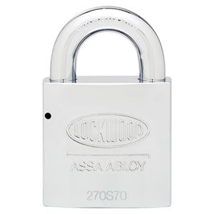Picture of Lockwood 270 Solid Steel 70mm Padlock 25mm Shackle