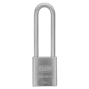 Picture of Lockwood 334 Steel Case 45mm Padlock 19mm CM Shackle 5P KD