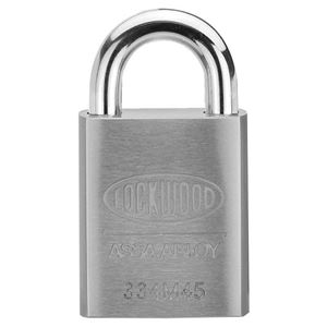 Picture of Lockwood 334 Stainless Steel Case 45mm Padlock 19mm SS Shrouded Shackle 5P KD