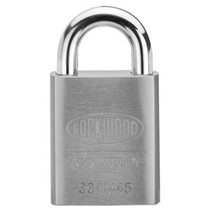 Picture of Lockwood 334 Stainless Steel Case 45mm Padlock 19mm SS Shackle 6P KA