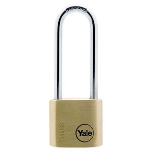 Picture of Yale 110-30 Brass Padlock 50mm Shackle