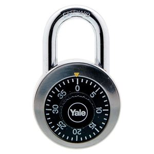 Picture of Yale 140-50 Stainless Steel Padlock 22mm Shackle