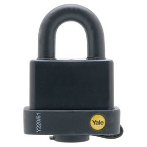 Picture of Yale 220-61 Steel Padlock 23mm Shackle
