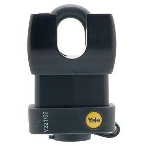 Picture of Yale 221-52 Steel Padlock 25mm Shackle
